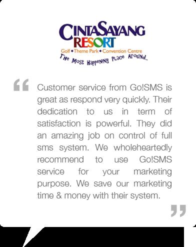 GO!SMS | Malaysia's most reliable bulk SMS gateway